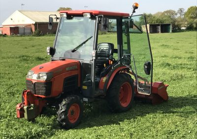 Tamworth Ground Services | Compact Tractor Hire